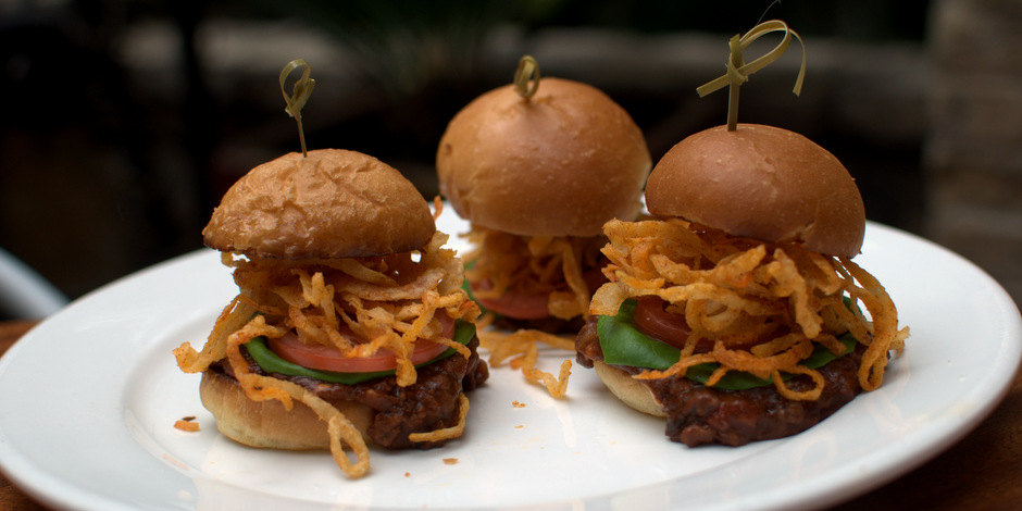 Sloppy Lamb Sliders